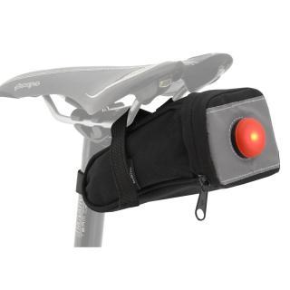 Compass Bike Cyklotaška pod sedlo se zadním LED světlem 12021