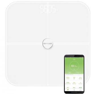 Concept VO4010 Osobní váha diagnostická 180 kg PERFECT HEALTH, bílá