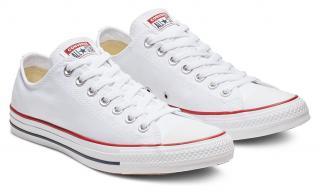 Converse biele dámske topánky Chuck Taylor Optical White - 37,5 dámské biela 37,5