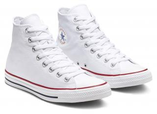 Converse biele unisex topánky Chuck Taylor All Star  - 37 dámské biela 37