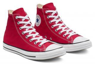 Converse červené dámske tenisky Chuck Taylor All Star Red - 42,5 dámské červená 42,5