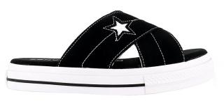 Converse Dámske šľapky One Star Sandal Black 38 dámské