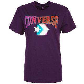 Converse fialové tričko Warmth Pack tee - XS dámské fialová XS