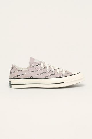 Converse - Kožené tenisky dámské sivá 40