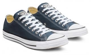 Converse modré unisex tenisky Chuck Taylor All Star OX Navy - 36,5 dámské modrá 36,5
