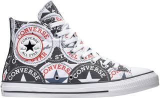Converse Tenisky Chuck Taylor All Star Black / Multi / White 166985C 45 pánské