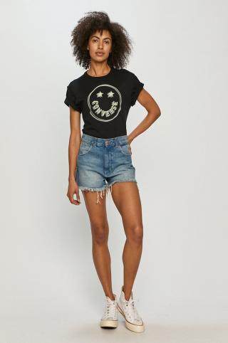 Converse - Tričko dámské čierna XS