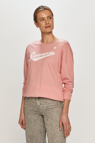Converse - Tričko s dlhým rúkavom dámské ružová S