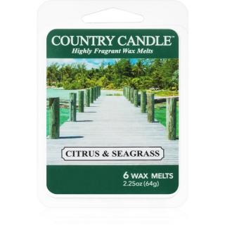 Country Candle Citrus & Seagrass vosk do aromalampy 64 g 64 g
