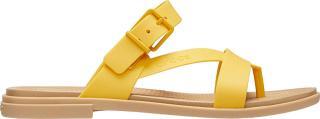 Crocs Dámske šľapky Crocs Tulum Toe Post Sandal W Canary / Tan 206108-75Q 38-39 dámské