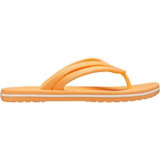 Crocs Dámske žabky Crocband Flip W Cantaloupe 206100-801 42-43 dámské