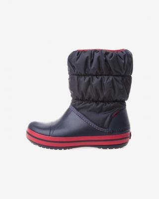 Crocs Winter Puff Snehule detské Modrá pánské 32-33