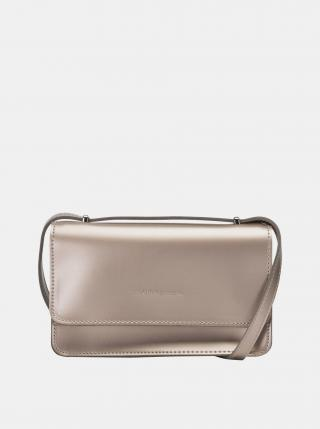 Crossbody kabelka v zlatej farbe Claudia Canova dámské zlatá
