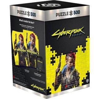 Cyberpunk 2077: Keyart Female V – Good Loot Puzzle