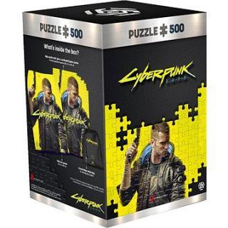 Cyberpunk 2077: Keyart Male V -–Good Loot Puzzle
