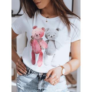 DAFNI womens T-shirt white RY1611 dámské Neurčeno One size