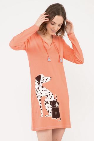Dámska nočná košeľa Dalmatine dámské béžová L