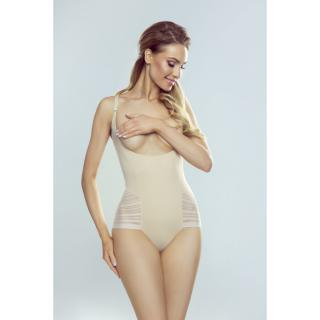Dámske body Eldar Vega dámské hnedá | krémová 3XL