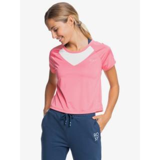 Dámske funkčné tričko Roxy SUNSET TEMPTATION dámské modrá | biela | ružová L