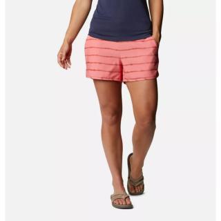 Dámske kúpacie kraťasy Columbia Pleasant Creek dámské hnedá | ružová | fialová S