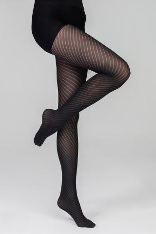 Dámske pančuchové nohavice Juliet 60 DEN dámské ČIERNA 2