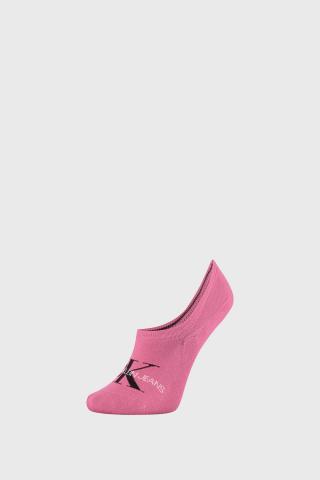 Dámske ponožky Calvin Klein Brooklyn ružové magenta uni