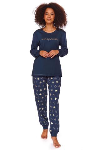 Dámske pyžamo Alex modré dámské tmavomodrá L