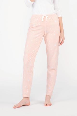 Dámske pyžamové nohavice Stars dámské marhuľová L