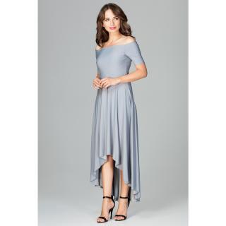 Dámske šaty Lenitif K485 dámské Grey S