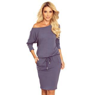 Dámske šaty NUMOCO 13 dámské fialová XL