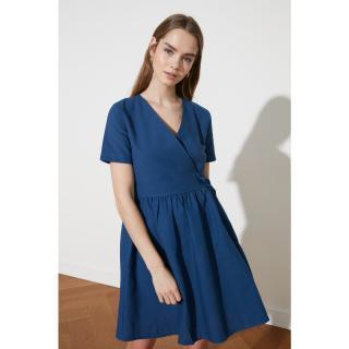 Dámske šaty Trendyol Belt detailed dámské Indigo 40