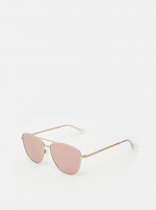 Dámske slnečné okuliare v ružovozlatej farbe Hawkers Karat dámské zlatoružová