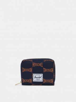 Dark Blue Patterned Wallet Herschel Supply pánské Tmavě modrá One size