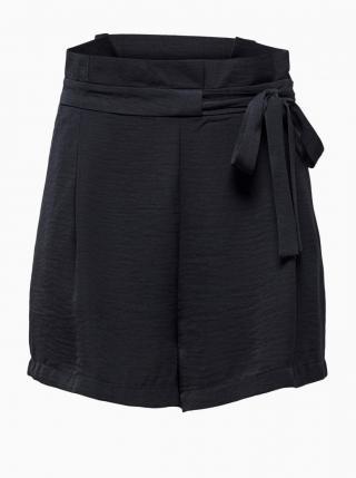 Dark Blue Shorts ONLY Amanda dámské Tmavě modrá XS