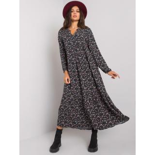 Dark blue viscose maxi dress dámské Other XS