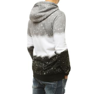 Dark gray mens hooded sweatshirt BX4898 pánské Neurčeno XXL
