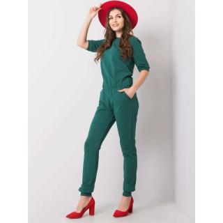 Dark green women´s jumpsuit dámské Neurčeno S
