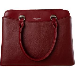 David Jones Dámska kabelka 6601-2 D.Red dámské červená