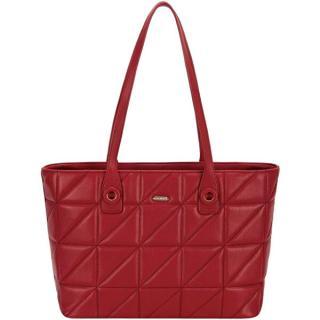 David Jones Dámska kabelka 6619-2A Dark Red dámské červená