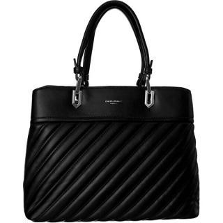 David Jones Dámska kabelka CM6215 Black dámské čierna