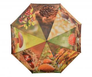 Dáždnik Autumn Hnedá
