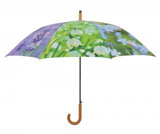 Dáždnik Flowers Fialová