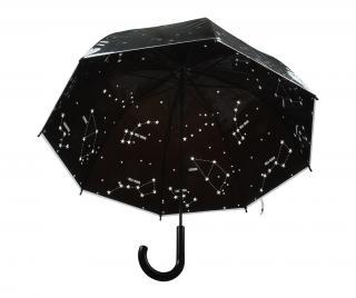 Dáždnik Stars Čierna