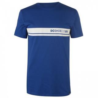 DC Block Colour Short Sleeve T Shirt Mens pánské Blue | Other M