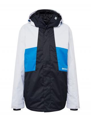 DC Shoes Outdoorová bunda DEFY  čierna / nebesky modrá / biela pánské M