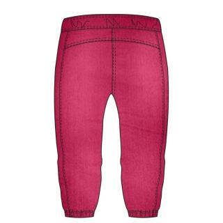 DECILLA 3/4 womens sweatpants pink růžová XS