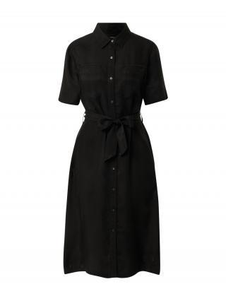 DENHAM Košeľové šaty DENISE  čierna dámské 36