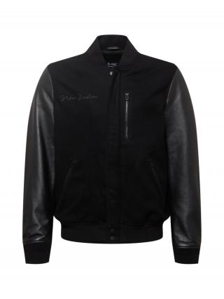 DENHAM Prechodná bunda ANDERSON  čierna pánské S