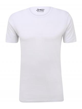 DENHAM Tričko  biela pánské XL