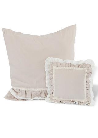 Denná Deka Volánik béžová jednolôžková posteľ s čelom pri nohách 140/210 cm,jednolôžková posteľ bez čela pri nohách 180/250 cm